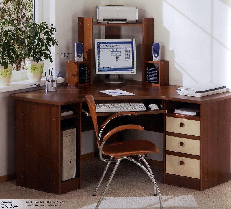Стіл комп'ютерний кутовий О-210
