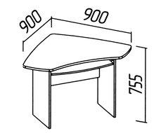 Компьютерный стол О-220