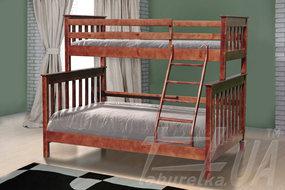 """Семейная двухъярусная кровать """"Скандинавия"""""""