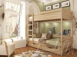 "Двоярусне ліжко ""Дует"""