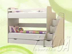 """Ліжко двоярусне """"Лімпопо"""""""