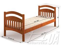 "Кровать ""Жасмин люкс"""