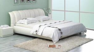 Белые кровати