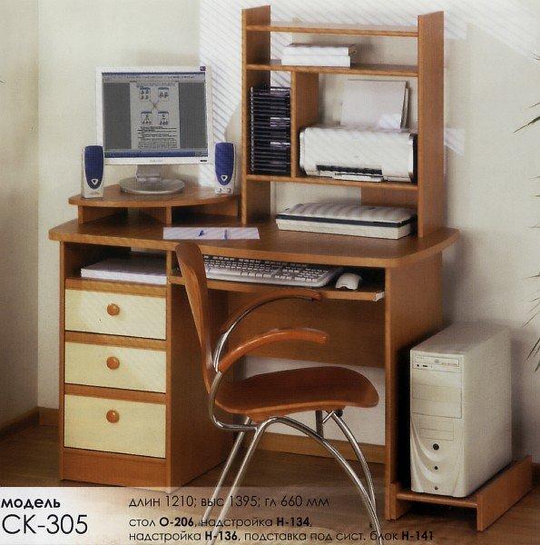 Компьютерный стол О-206