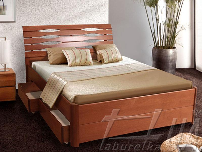 """Ліжко """"Марія Люкс"""" з ящиками"""