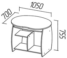 Компьютерный стол О-204