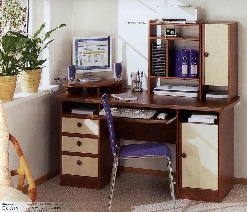 Комп'ютерний стіл О-209