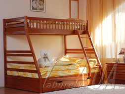 "Двоярусне ліжко ""Юлія""  (з шухлядами)"
