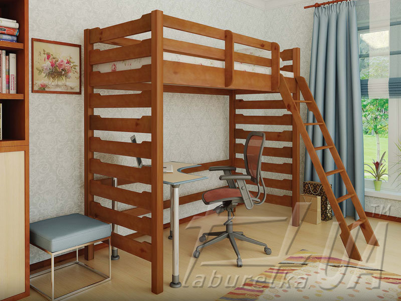 """Двоярусне ліжко """"Троя-2"""""""