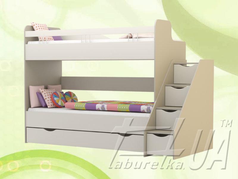 """Кровать двухъярусная """"Лимпопо"""""""