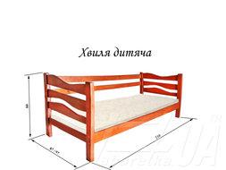 """Кровать односпальная детская """"Волна"""""""