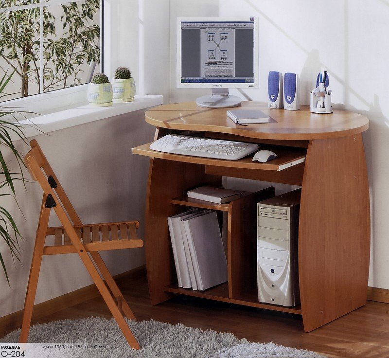 Комп'ютерний стіл О-204