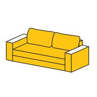 Раскрой  всего дивана