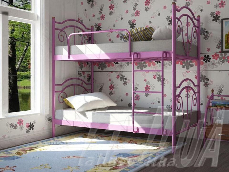 """Металеве двоярусне ліжко """"Діана 2 яруса"""""""