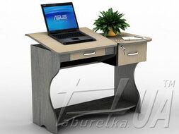 Стол компьютерный СУ-5 /ПВХ/ из наличия