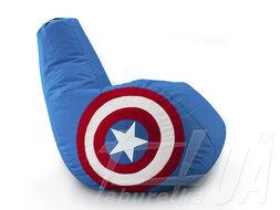 """Крісло - мішок """"Капітан Америка"""""""