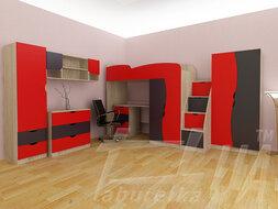 """Дитяча модульна кімната """"Тeenager"""""""