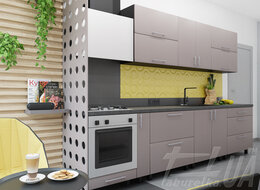 """Кухня """"Мода Люкс"""" с матовыми фасадами"""