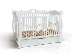 """Детская кроватка """"Сердечко"""""""